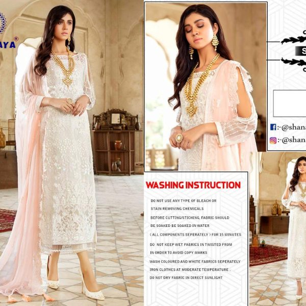 SHANAYA FASHION S 38 PAKISTANI SUITS SINGLE PIECE