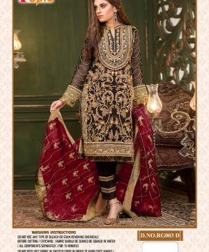 FEPIC ROSEMEEN RG 003 A D WHOLESALE PAKISTANI SUIT