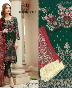 HOOR TEX 12009 COLORS PAKISTANI SUITS SUPPLIER