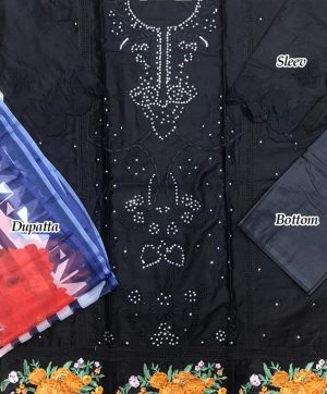 HOOR TEX 17019 A B PAKISTANI SUITS SUPPLIER