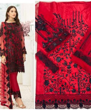 HOOR TEX 18006 COLORS PAKISTANI SUITS WHOLESALE