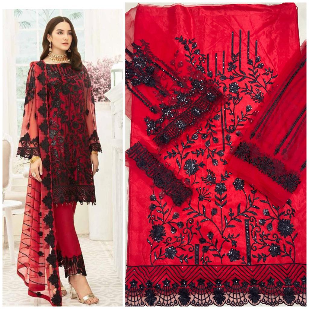 HOOR TEX 18006 COLORS PAKISTANI SUITS WHOLESALE1