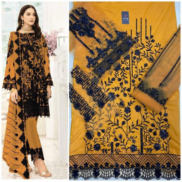 HOOR TEX 18006 COLORS PAKISTANI SUITS WHOLESALE2