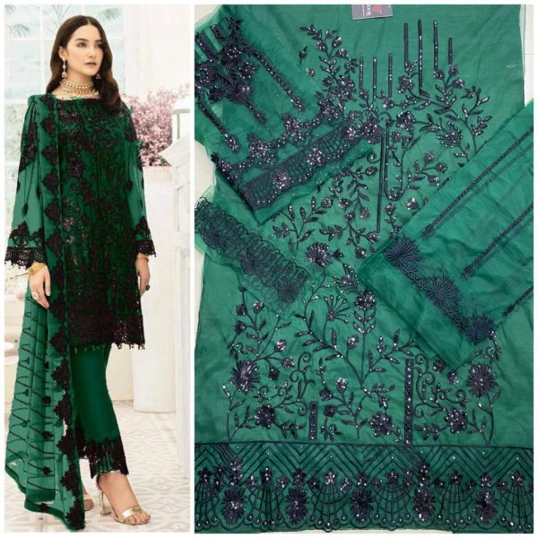 HOOR TEX 18006 COLORS PAKISTANI SUITS WHOLESALE3
