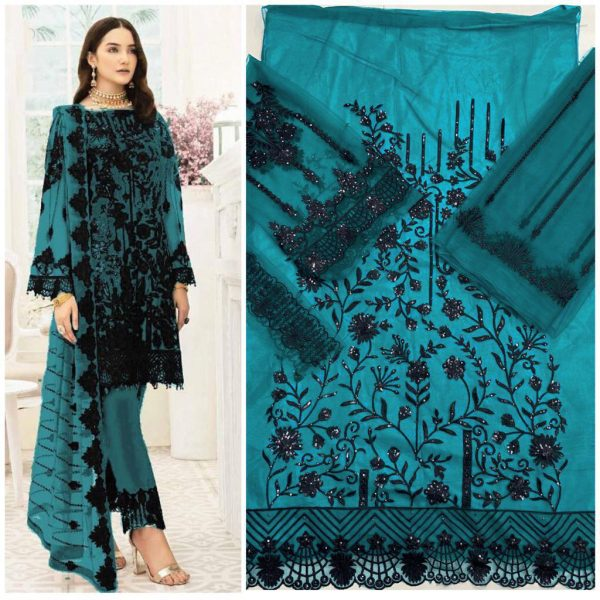 HOOR TEX 18006 COLORS PAKISTANI SUITS WHOLESALE4