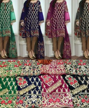 PEHNAVA FAIZA COLOUR EDITION PAKISTANI SUITS