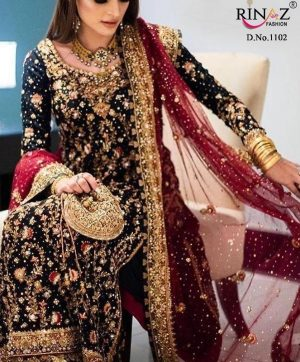 RINAZ FASHION 1102 PAKISTANI SUITS SUPPLIER