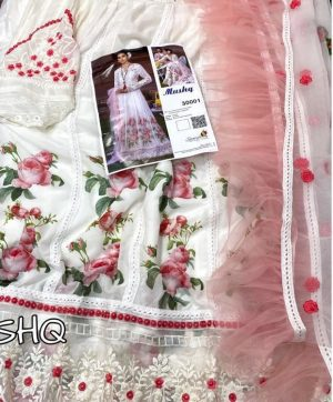 SANIYA TRENDZ MUSHQ 30001 PAKISTANI SUITS