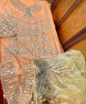 COSMOS BRIDAL WEAR 2103 PAKISTANI SUITS MANUFACTURER