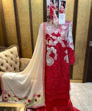 CHARIZMA DESIGNER 12004 PAKISTANI SUITS IN SINGLES