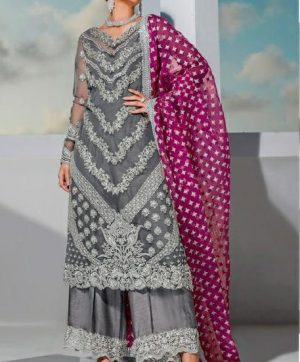 RAMSHA R 213 PAKISTANI SUITS IN SINGLE PIECE
