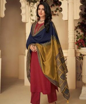 DEEPSY PANGHAT VOL 4 PASHMINA IN SINGLE PIECE