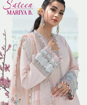 SHREE FABS MARIYA B SATEEN COLLECTION IN SINGLES