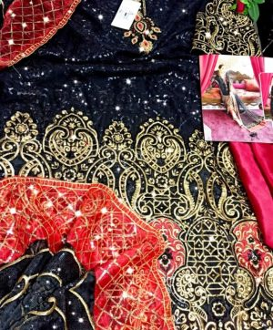 SHREE FABS S 142 PAKISTANI SUITS WHOLESALER