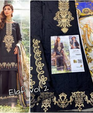 SANIYA TRENDZ ELAAF VOL 2 19005 SINGLE PIECE