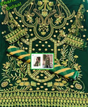 CHARIZMA DESIGNER GULAAL PAKISTANI SUITS IN SINGLES