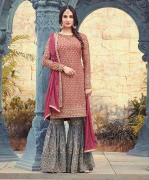 MAISHA 5501 DESIGNER SHARARA WITH FREE SHIPPING