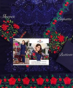 RAMSHA R 107 COLORS PAKISTANI SUITS WITH FREE SHIPPING