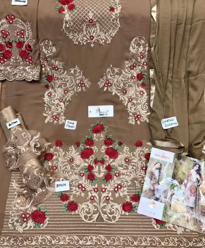 SHREE FABS S 137 D PAKISTANI SUITS FREE SHIPPING