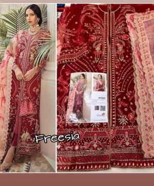 SANIYA TRENDZ FREESIA 41005 PAKISTANI SUITS ONLINE
