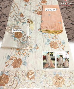 CHARIZMA ALLURE 17001 PAKISTANI SUITS FREE SHIPPING