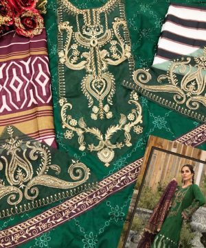 PAKISTANI SUIT IN GREEN COLOR ONLINE WHOLESALE