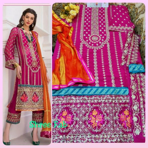 SHREE FABS S 144 WHOLESALE PAKISTANI SUITS FOR RESELLERS
