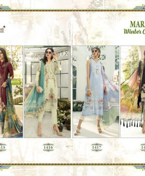 SHREE FABS MARIA B WINTER COLLECTION IN SINGLES