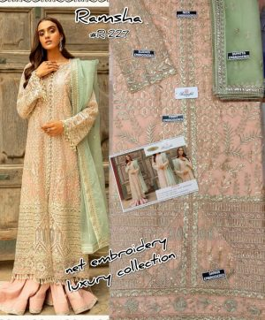 TOP 30 RAMSHA FASHION SURAT PAKISTANI SUITS