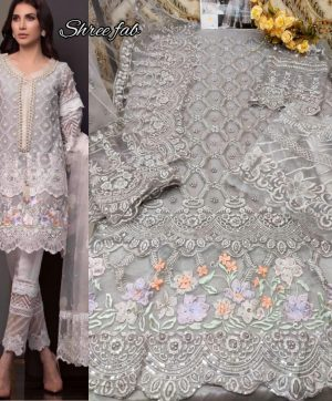 SHREE FABS S 118 PAKISTANI SUITS IN SINGLES