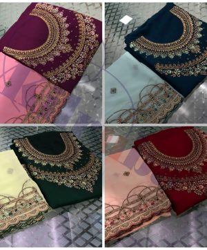 KILRUBA DOUBLE NECK HEAVY DUPATTA SUITS