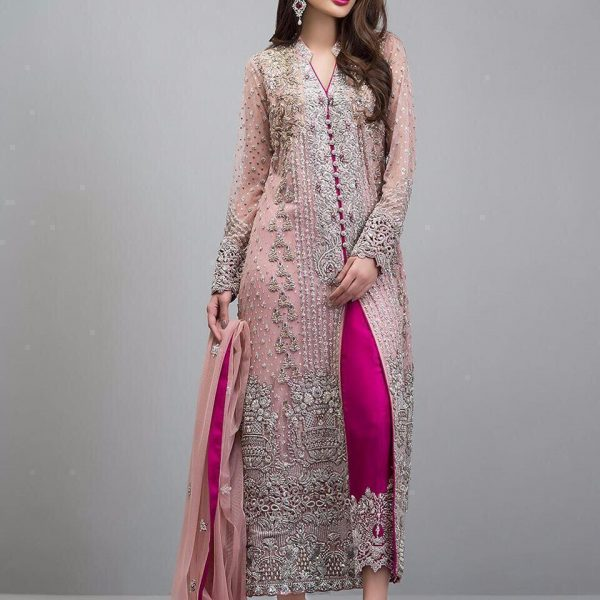 FEPIC 452 A PINK PAKISTANI SUITS FREE SHIPPING