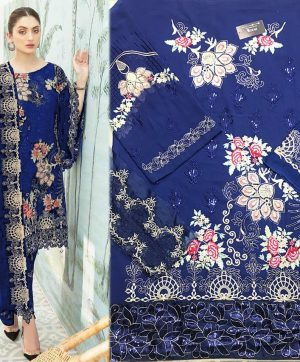HOOR TEX 18007 PAKISTANI SUITS WHOLESALER SINGLE