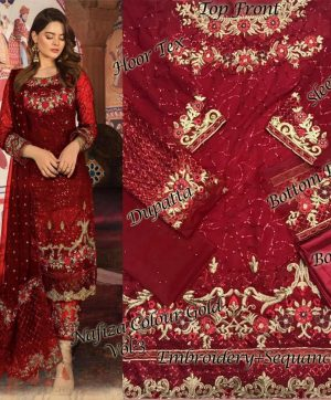 HOOR TEX 10002 PAKISTANI SUITS FREE SHIPPING