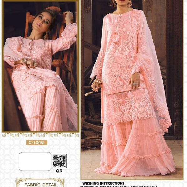 FEPIC C 1046 PAKISTANI SUITS WITH FREE SHIPPING