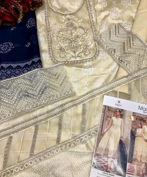 DEEPSY MARIA B LAWN VOL 3 693 WITH FREE SHIPPING