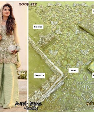 HOOR TEX ATIF RIAZ PAKISTANI SUITS WHOLESALER