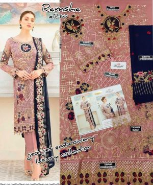 RAMSHA 199 PAKISTANI SUITS SELLER FOR RESELLERS