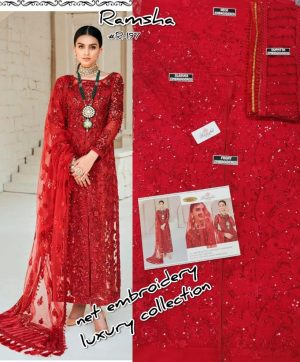 RAMSHA 197 PAKISTANI SUITS SUPPLIER SURAT