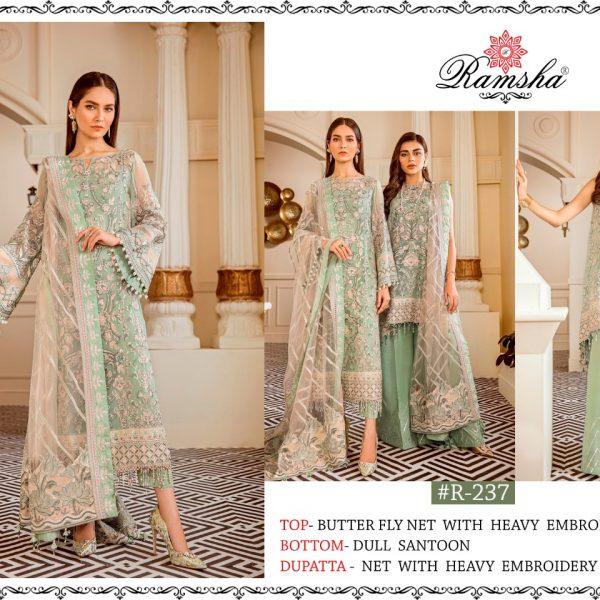 RAMSHA 237 PAKISTANI SUITS IN BEST PRICE ONLINE