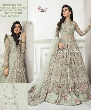SHREE FABS S 171 PAKISTANI CLOTHING WITH FREE SHIPPING