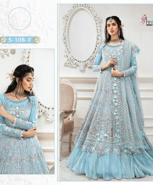 SHREE FABS S 108 NEW COLORS WHOLESALE PRICE