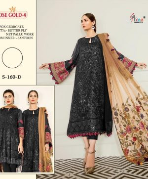 SHREE FABS S 160 PAKISTANI SUITS FREE SHIPPING