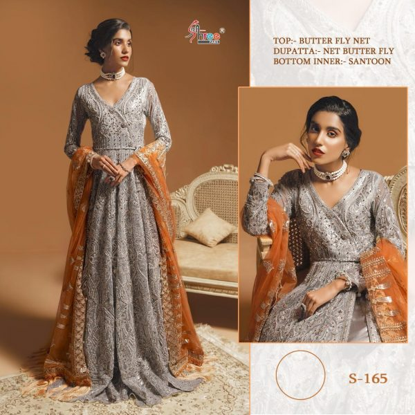 SHREE FABS S 165 PAKISTANI SUITS BEST PRICE (3)