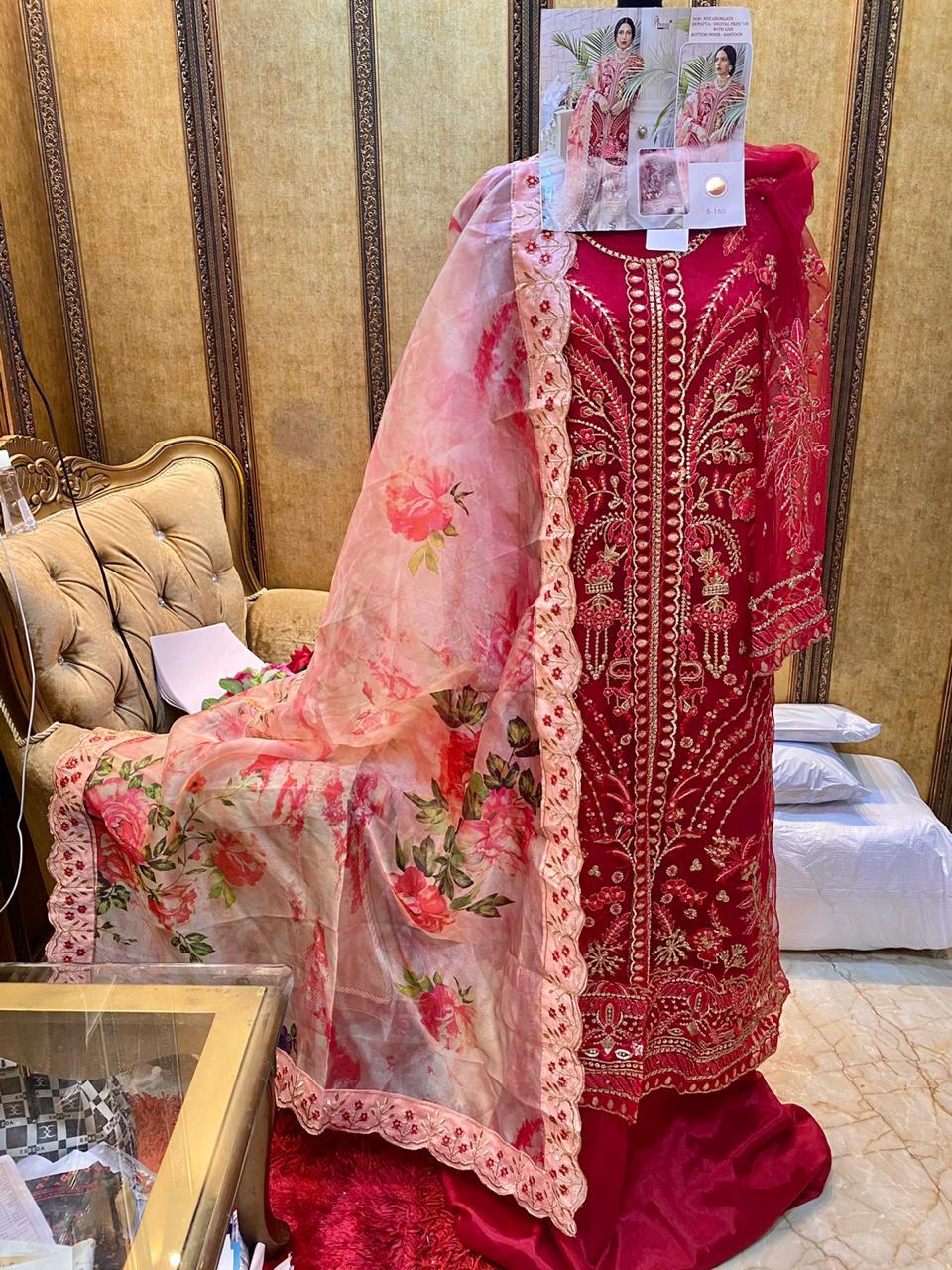 SHREE FABS S 180 PAKISTANI SUITS (3)
