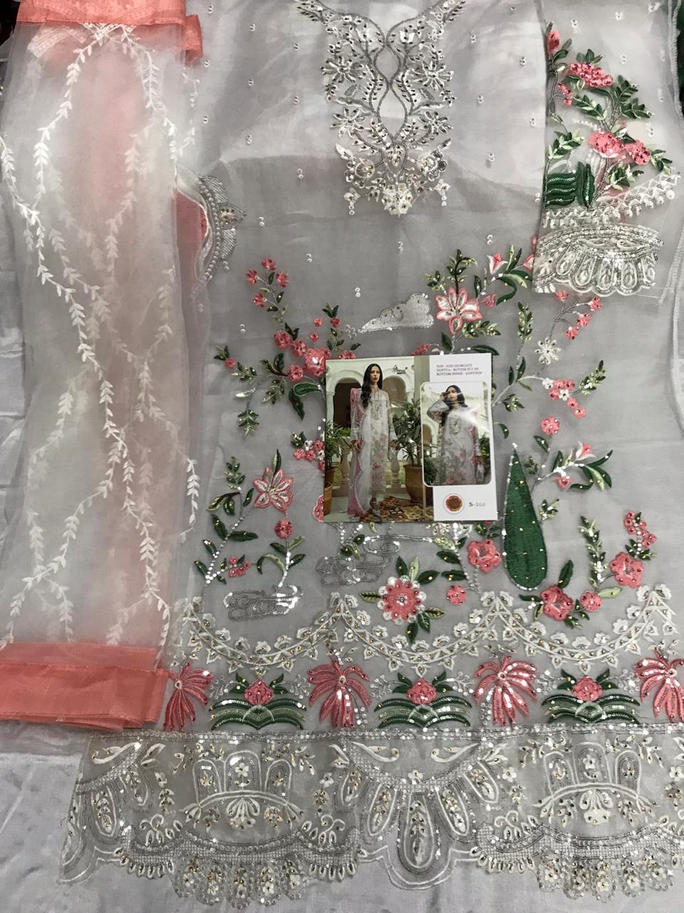 SHREE FABS S 168 PAKISTANI SUITS MANUFACTURING PRICE