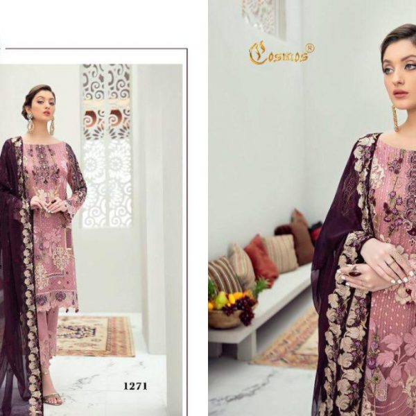 COSMOS AAYRA VOL 11 1271 PAKISTANI SUITS