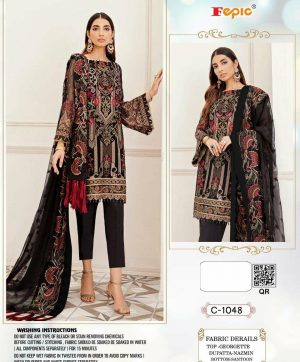 FEPIC C 1048 PAKISTANI SUITS IN BEST PRICE