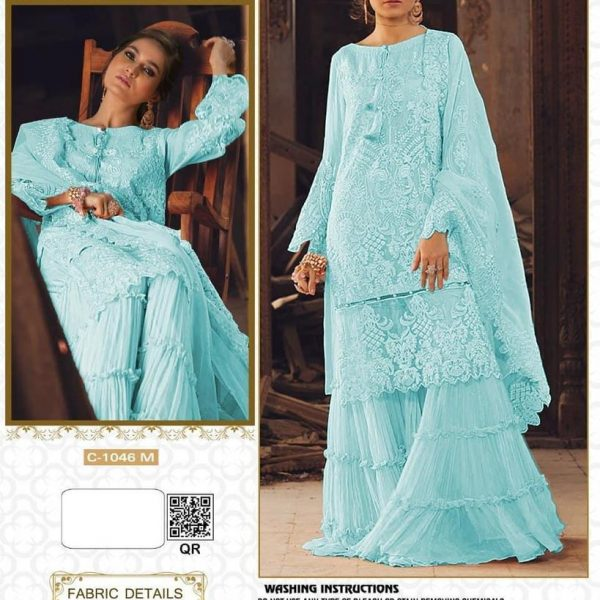 FEPIC C 1046 M PAKISTANI SUITS ONLINE WHOLESALER