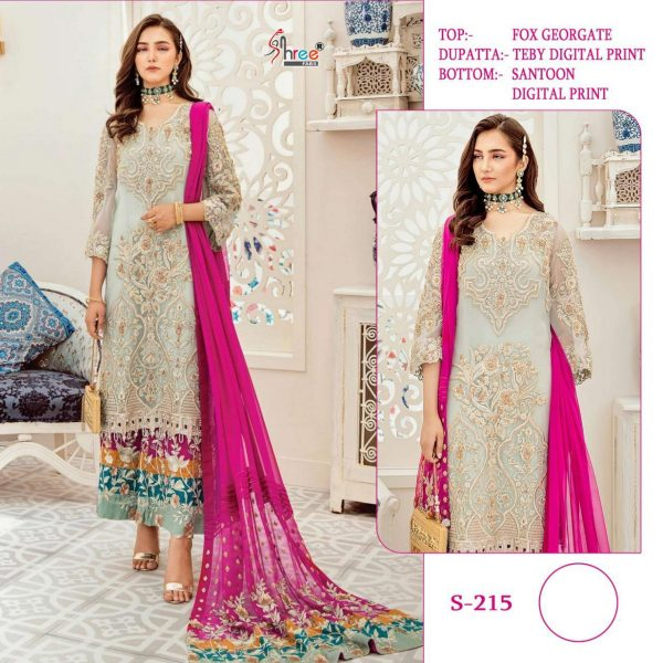 SHREE FABS S 215 WHOLESALER OF PAKISTANI SUITS
